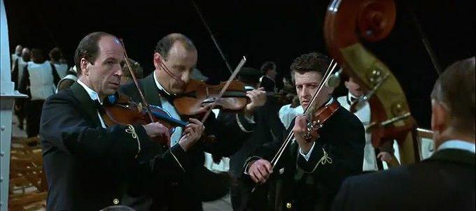 Orchestra de pe Titanic