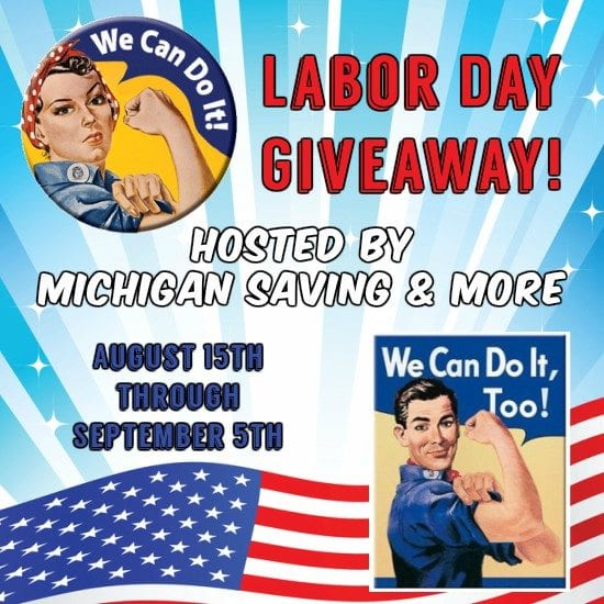 Labor Day Giveaway Ends 9/5