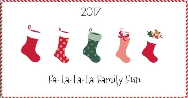 Fa-La-La-La Family Fun | #HolidayGiftGuide