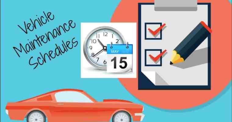 Vehicle Maintenance Schedules Save You Money