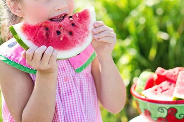 Children Gain A Love For Food