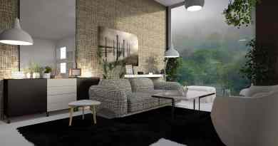 make a large room comfortable