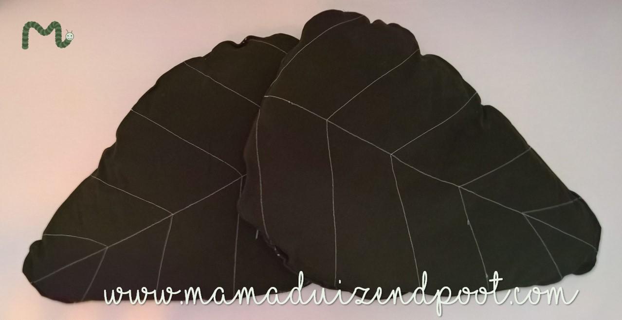 Een bladkussen (of welke vorm dan ook)