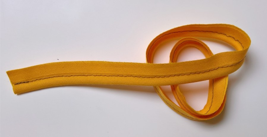 Zelf paspelband maken (van biaisband of van stof)