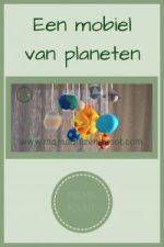 Pinterest - mobiel van planeten