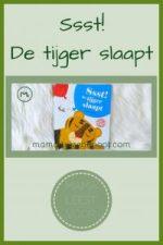 Pinterest - Ssst! De tijger slaapt