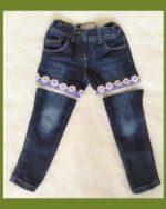 Spijkerbroek afknippen voor korte broek