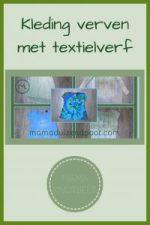 Pinterest - kleding verven met textielverf