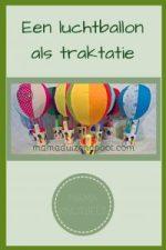 Pinterest - luchtballon als traktatie