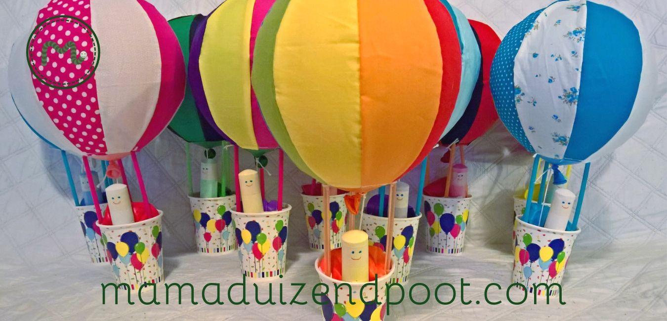 luchtballon als traktatie