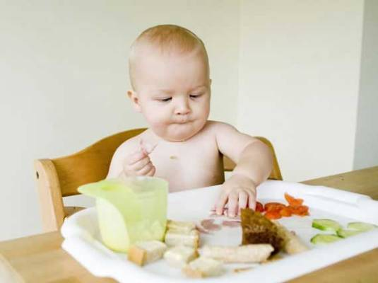 Baby led weaning é seguro