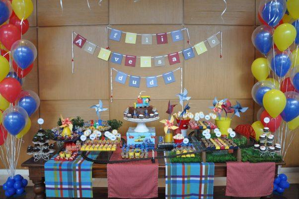 festa aniversário thomas e amigos