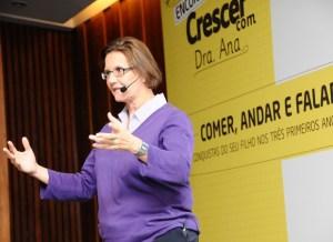 Dra. Ana Maria Escobar no evento da Rev. Crescer (Foto: Sylvia Gosztonyi / Editora Globo)