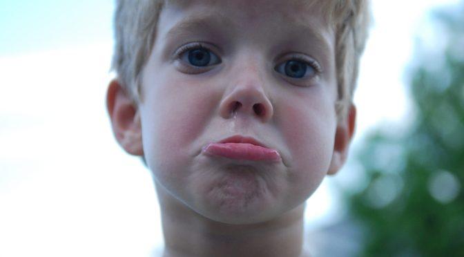 Abriu o berreiro? Veja como ensinar seu filho a lidar com as frustrações