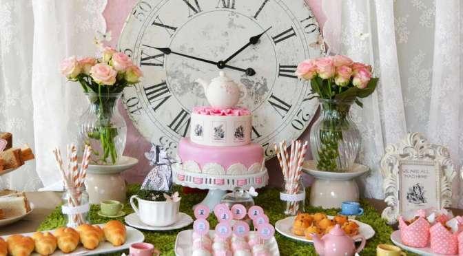 Chá de bebê da Alice