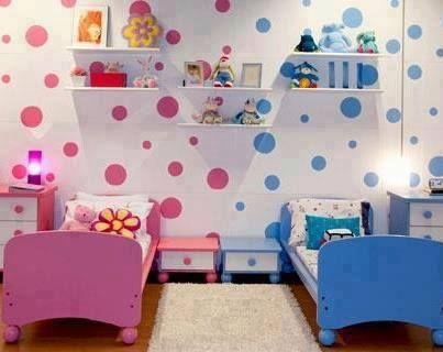 10 ideias de quarto para menino e menina juntos mam e for Bedroom ideas for baby boy and girl sharing