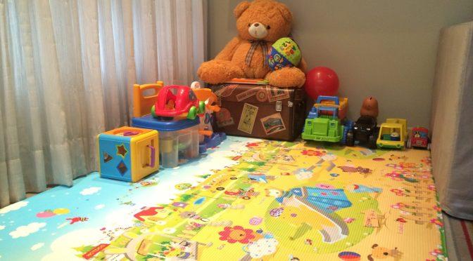 Tapete educativo (lindo e macio!) para bebês e crianças pequenas