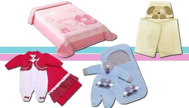 Para aquecer o bebê no frio: cobertores, toalhas e saídas maternidade (Magoo Baby)