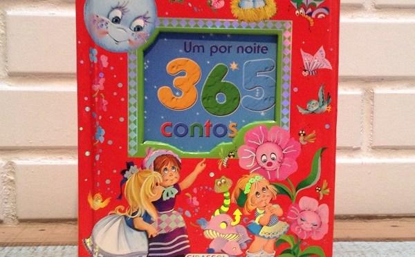 Capa livro infantil 365 contos