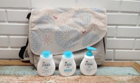 bolsa maternidade Nuk e produtos Baby Dove