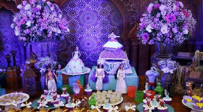 Festa da Jasmine (mesa de doces)