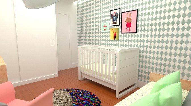 4 projetos descolados de quartos de bebês