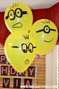 Balões de Minions
