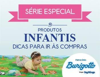 Série Especial Produtos Infantil com patrocínio Burigotto