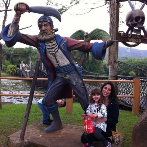 Ilha do Pirata no Beto Carrero World