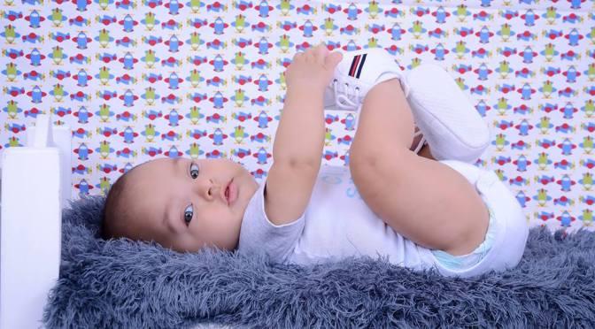 Mural de fotos de bebês e crianças das seguidoras do blog