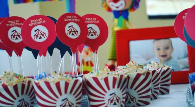 Festa infantil no tema Circo