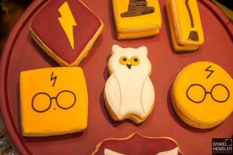 Festa Harry Potter: biscoitos personalizados