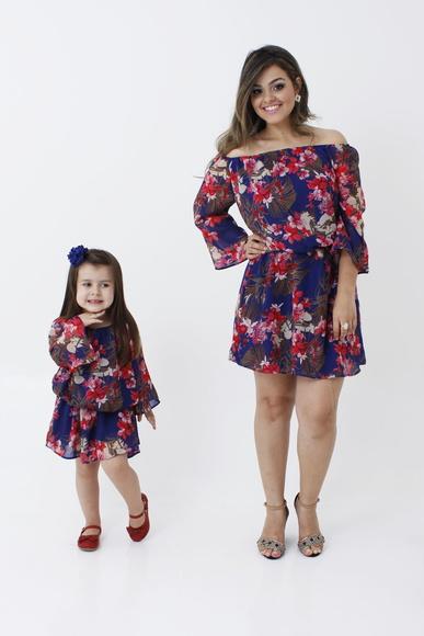 Vestido tal mãe tal filha para presente de Dia das Mães