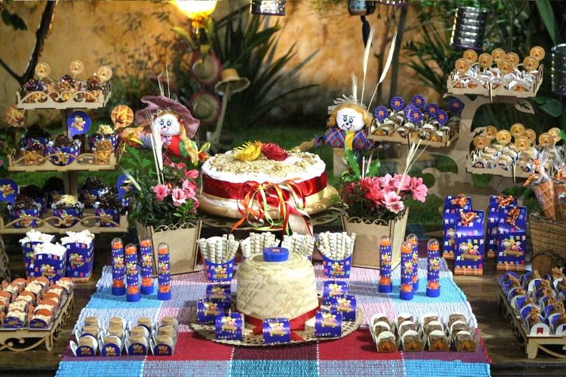Decoração para festa junina infantil