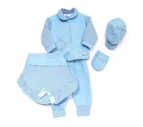 Saída maternidade para bebês meninos