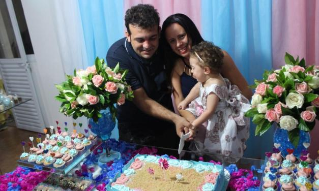 Aniversário de 1 ano da Larah