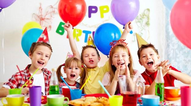 Organizando a festinha de aniversário
