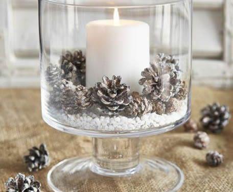 DIY – Enfeites de Natal Com Pinha