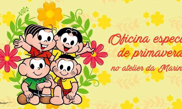 Parque da Mônica Promove Oficinas Especiais de Primavera
