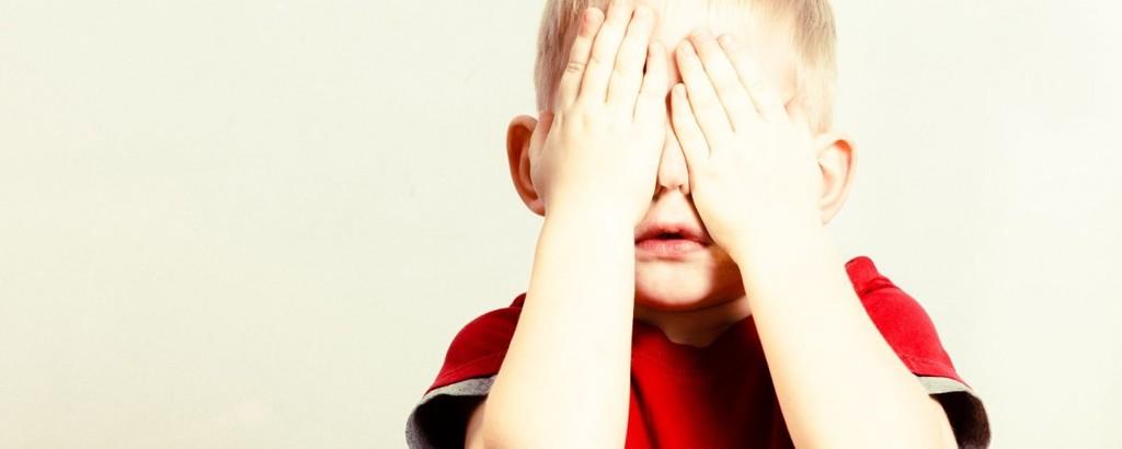 filhos tímidos