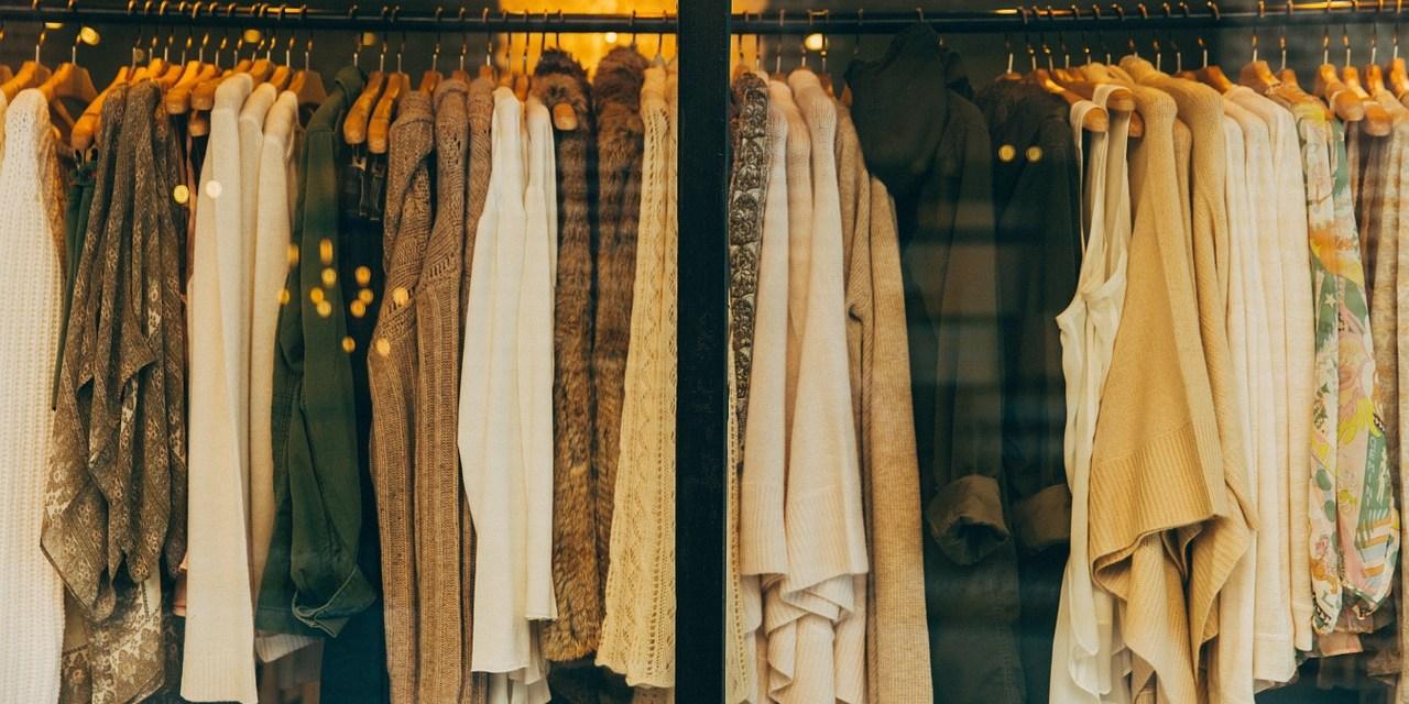 Manter as roupas limpas e organizadas