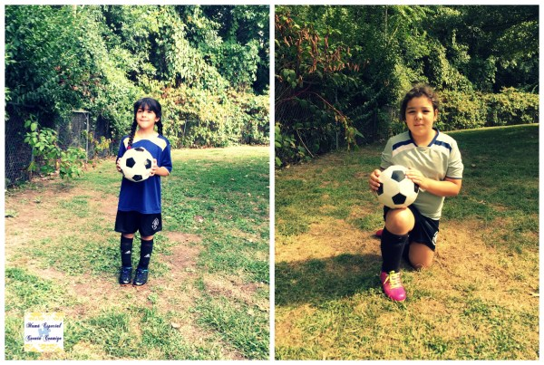 Lucy y Lala soccer