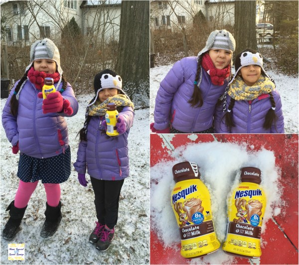Lala and Lucy Deayunos divertidos #Nesquik