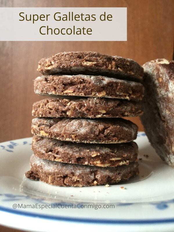 galletas de chocolate con cereales