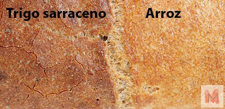 craquelado Esponjosidad y harinas integrales