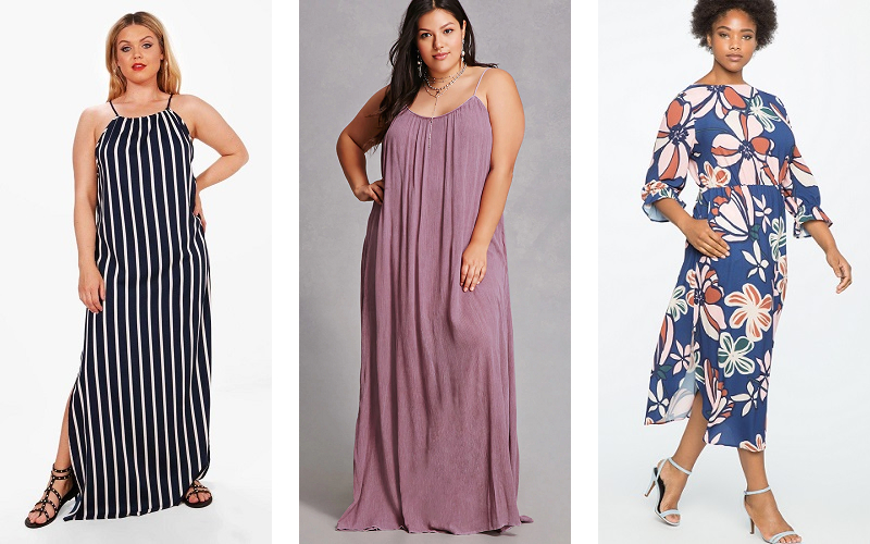 Plus size maxi dresses you can take into fall