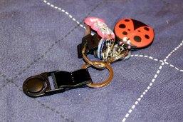 Keyring clip