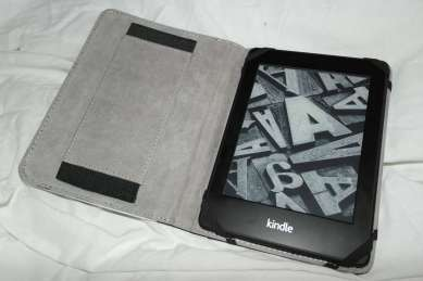 Kindle Paperwhite in the case