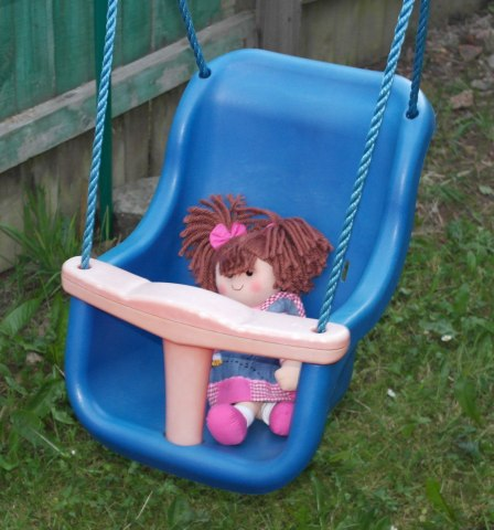 Swinging doll