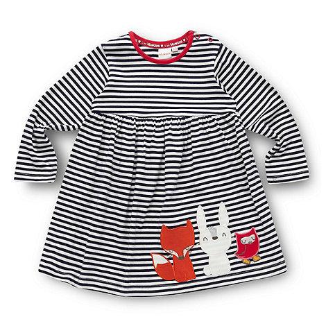 Babies navy animal dress